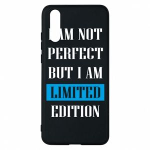 Etui na Huawei P20 I'm not perfect but i am limited edition