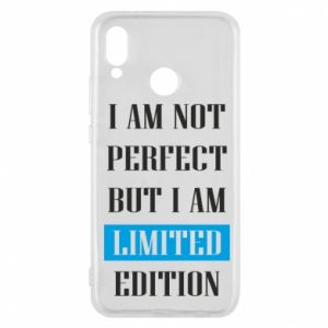 Etui na Huawei P20 Lite I'm not perfect but i am limited edition