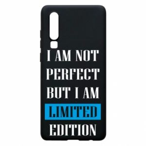 Etui na Huawei P30 I'm not perfect but i am limited edition