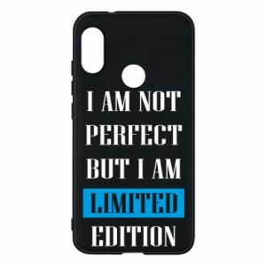 Etui na Mi A2 Lite I'm not perfect but i am limited edition