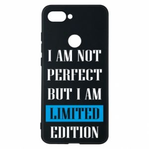 Phone case for Xiaomi Mi8 Lite I'm not perfect but i am limited edition