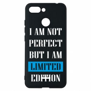 Phone case for Xiaomi Redmi 6 I'm not perfect but i am limited edition