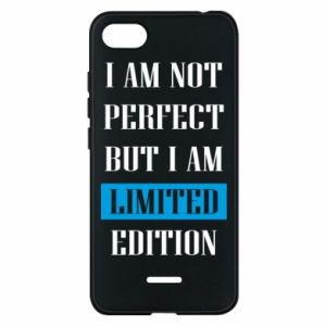 Etui na Xiaomi Redmi 6A I'm not perfect but i am limited edition
