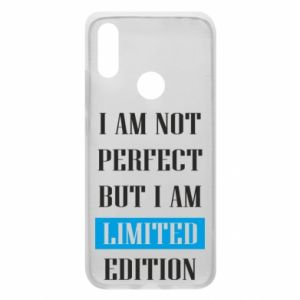Etui na Xiaomi Redmi 7 I'm not perfect but i am limited edition