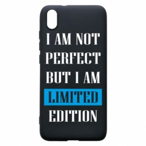 Etui na Xiaomi Redmi 7A I'm not perfect but i am limited edition