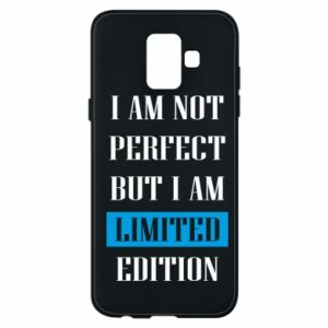 Etui na Samsung A6 2018 I'm not perfect but i am limited edition