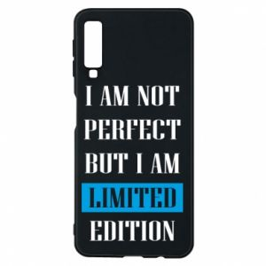 Etui na Samsung A7 2018 I'm not perfect but i am limited edition