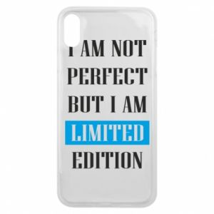 Etui na iPhone Xs Max I'm not perfect but i am limited edition