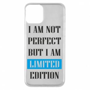Etui na iPhone 11 I'm not perfect but i am limited edition