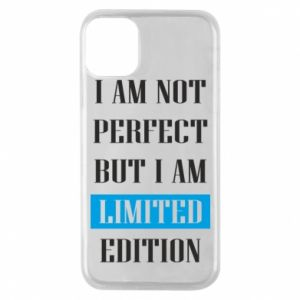 Etui na iPhone 11 Pro I'm not perfect but i am limited edition