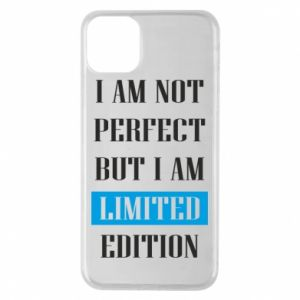 Etui na iPhone 11 Pro Max I'm not perfect but i am limited edition