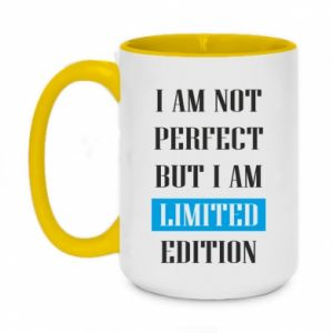 Kubek dwukolorowy 450ml I'm not perfect but i am limited edition