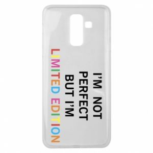 Samsung J8 2018 Case I'm  not perfect but I'm limited edition