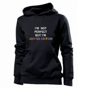 Damska bluza I'm  not perfect but I'm limited edition