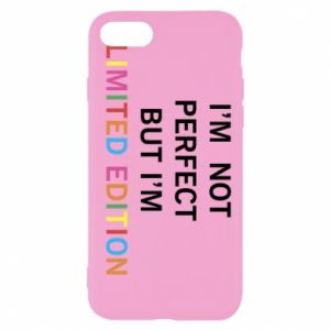 iPhone SE 2020 Case I'm  not perfect but I'm limited edition