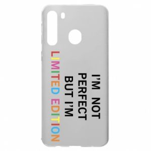 Samsung A21 Case I'm  not perfect but I'm limited edition