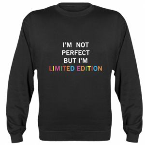 Bluza (raglan) I'm  not perfect but I'm limited edition