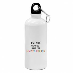 Water bottle I'm  not perfect but I'm limited edition