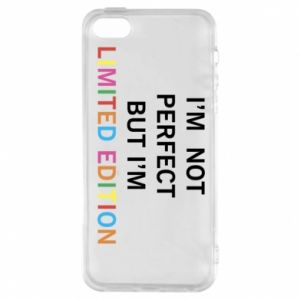 Etui na iPhone 5/5S/SE I'm  not perfect but I'm limited edition