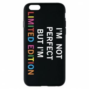 Etui na iPhone 6/6S I'm  not perfect but I'm limited edition