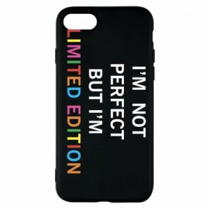 Etui na iPhone 8 I'm  not perfect but I'm limited edition