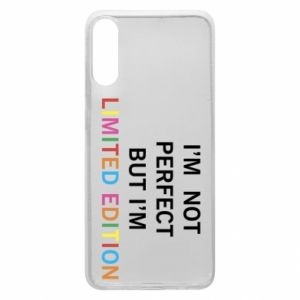 Etui na Samsung A70 I'm  not perfect but I'm limited edition