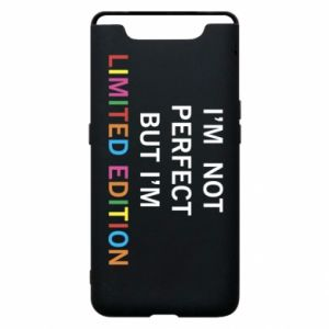 Etui na Samsung A80 I'm  not perfect but I'm limited edition