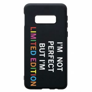 Etui na Samsung S10e I'm  not perfect but I'm limited edition