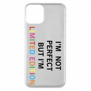 Etui na iPhone 11 I'm  not perfect but I'm limited edition