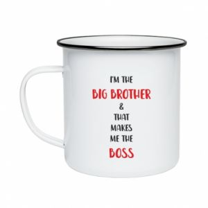 Enameled mug I'm the big brother