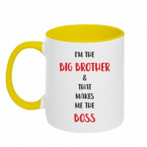 Two-toned mug I'm the big brother