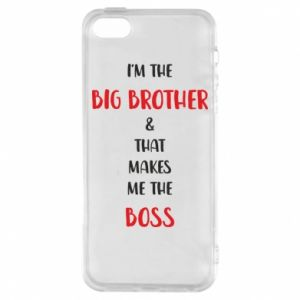 Phone case for iPhone 5/5S/SE I'm the big brother