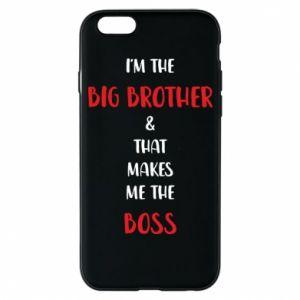 Etui na iPhone 6/6S I'm the big brother