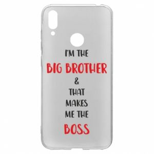 Etui na Huawei Y7 2019 I'm the big brother