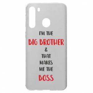Etui na Samsung A21 I'm the big brother