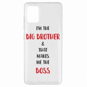 Etui na Samsung A51 I'm the big brother