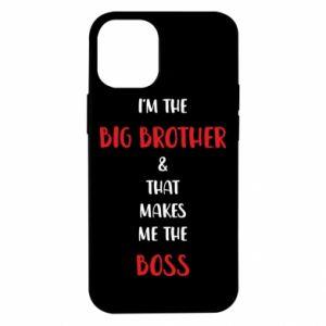 Etui na iPhone 12 Mini I'm the big brother