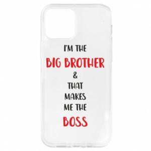 Etui na iPhone 12/12 Pro I'm the big brother