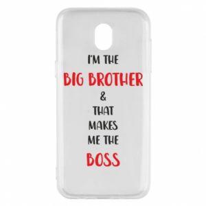 Etui na Samsung J5 2017 I'm the big brother