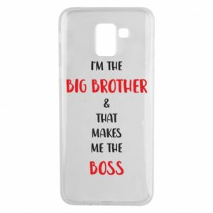 Phone case for Samsung J6 I'm the big brother