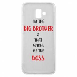 Etui na Samsung J6 Plus 2018 I'm the big brother
