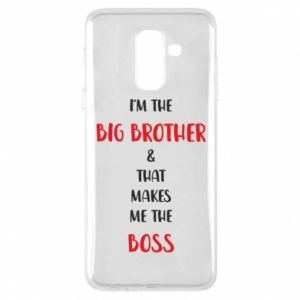 Phone case for Samsung A6+ 2018 I'm the big brother