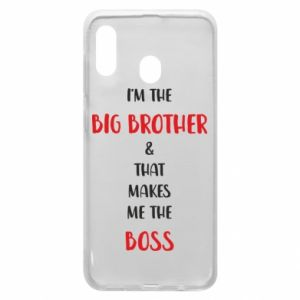 Phone case for Samsung A30 I'm the big brother