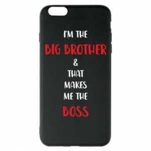 Etui na iPhone 6 Plus/6S Plus I'm the big brother