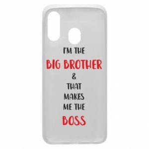 Etui na Samsung A40 I'm the big brother
