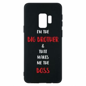 Phone case for Samsung S9 I'm the big brother