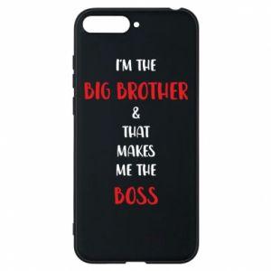 Etui na Huawei Y6 2018 I'm the big brother