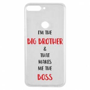 Etui na Huawei Y7 Prime 2018 I'm the big brother