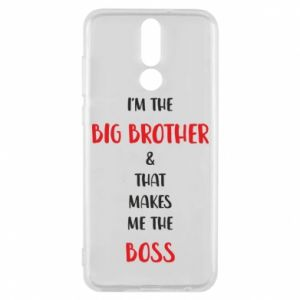 Phone case for Huawei Mate 10 Lite I'm the big brother