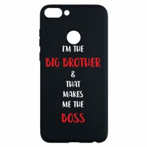 Phone case for Huawei P Smart I'm the big brother